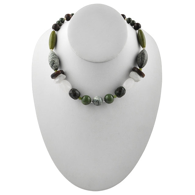 Terra Firma Beaded Necklace