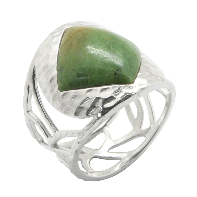 Taproot Jasper Ring