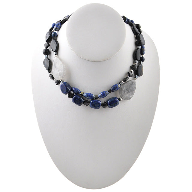Blue Zone Stone Necklace
