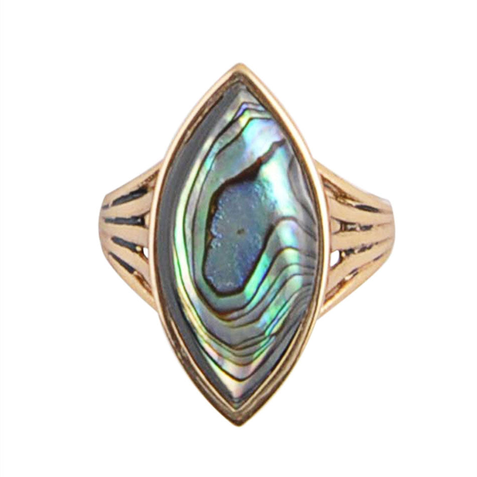 Abalone Spark Ring