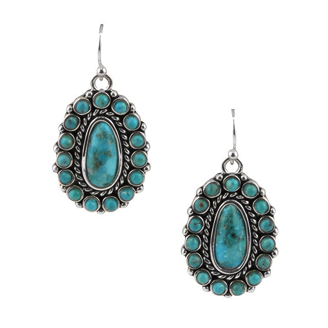 Urban Rodeo Turquoise Earring