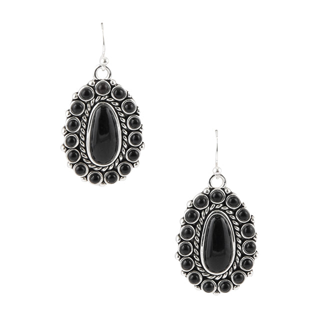 Goth Rodeo Onyx Earring