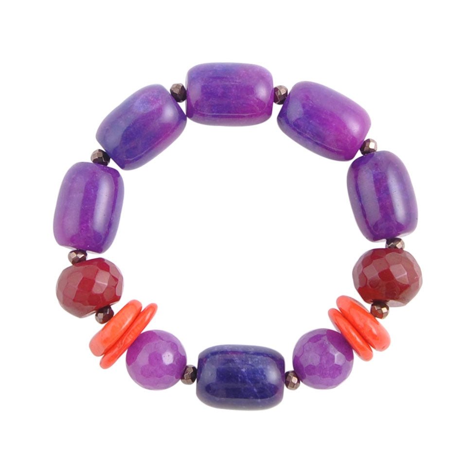 Purple Flame Bracelet