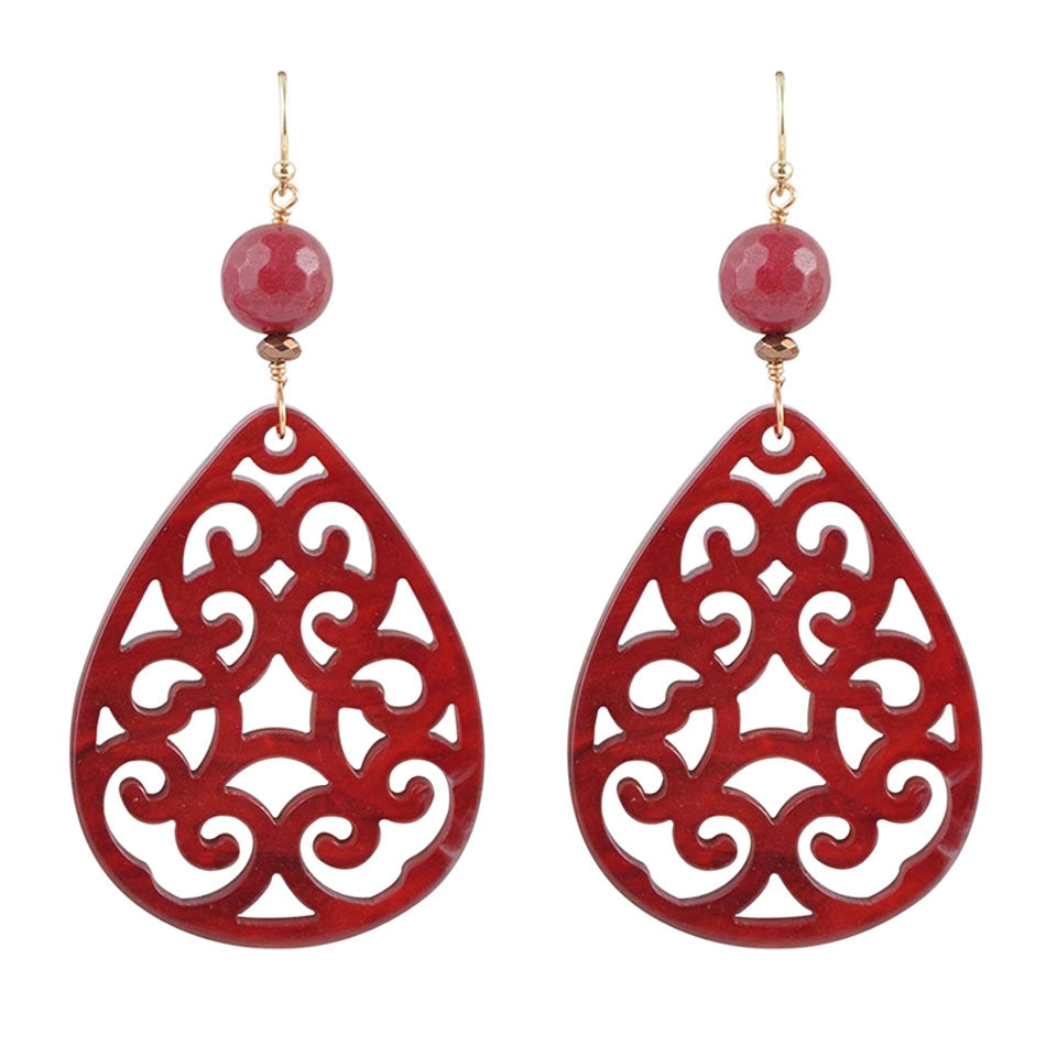 Moroccan Sunset Drop Earring