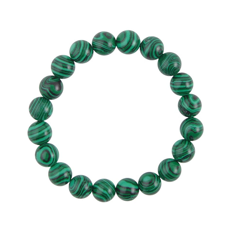 Marvelous Malachite Stretch Bracelet