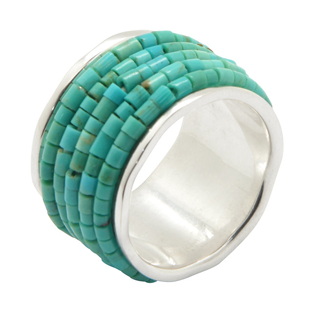 Mulholland Drive Turquoise Ring
