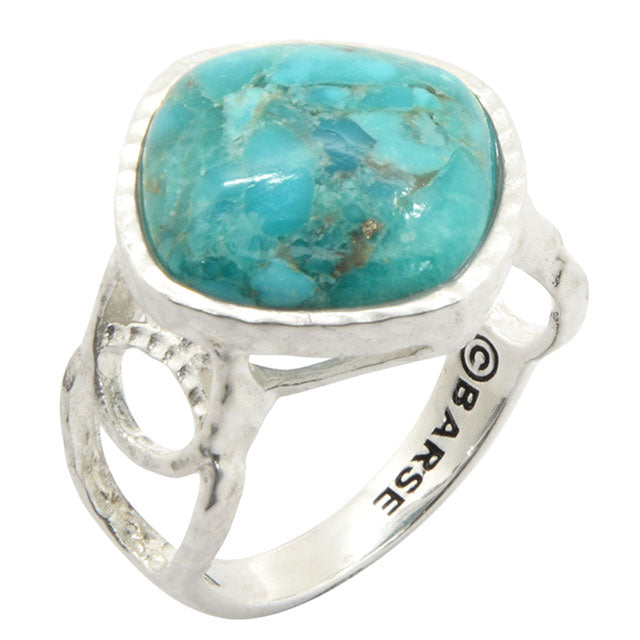Turquoise Circle Dance Ring