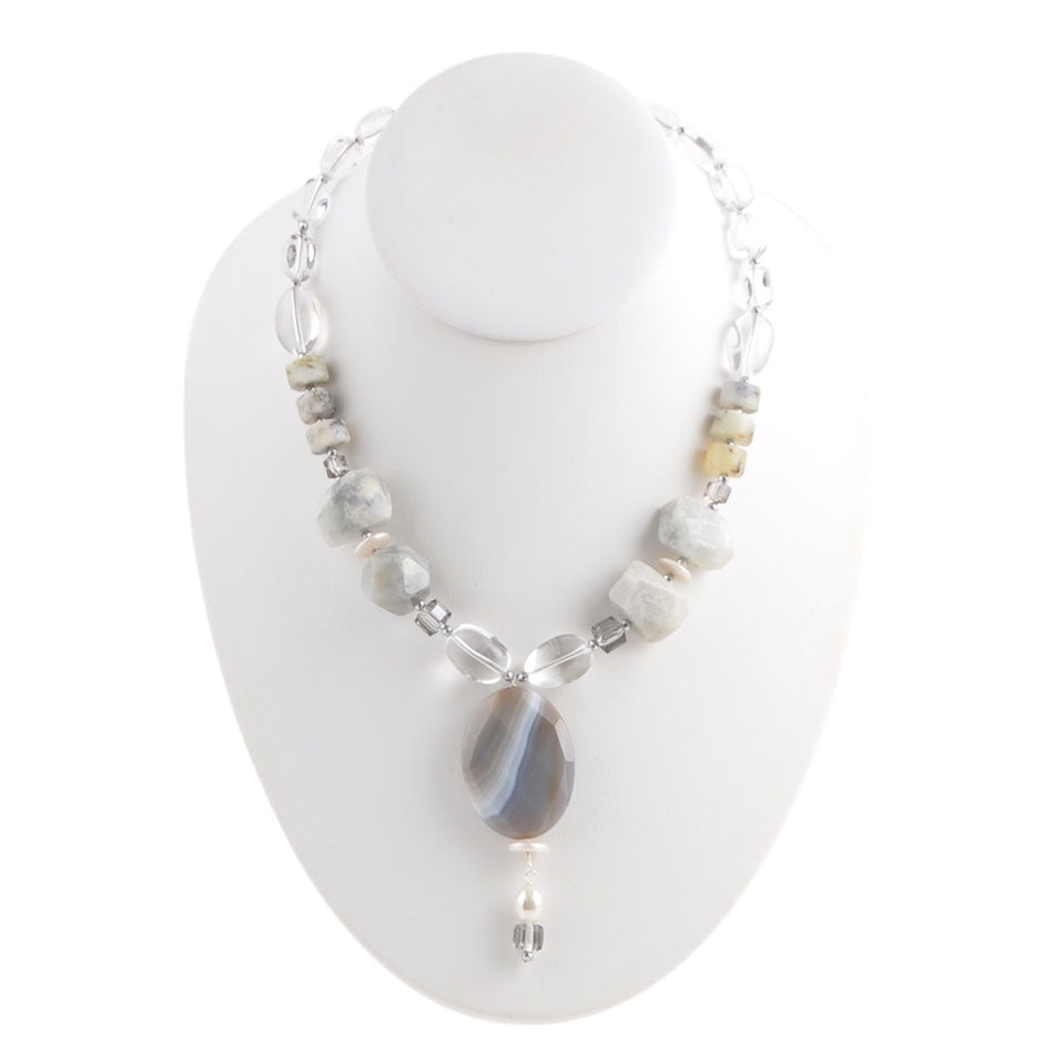 Ice Queen Statement Necklace