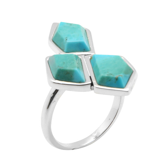 Turquoise Trichotomy Ring