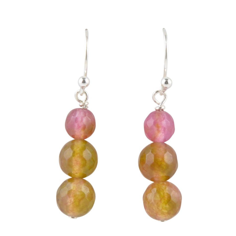 Olivia Agate Drop Earring