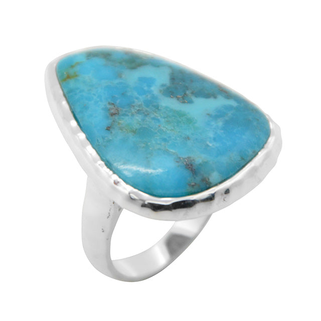 Turquoise Abstract Ring