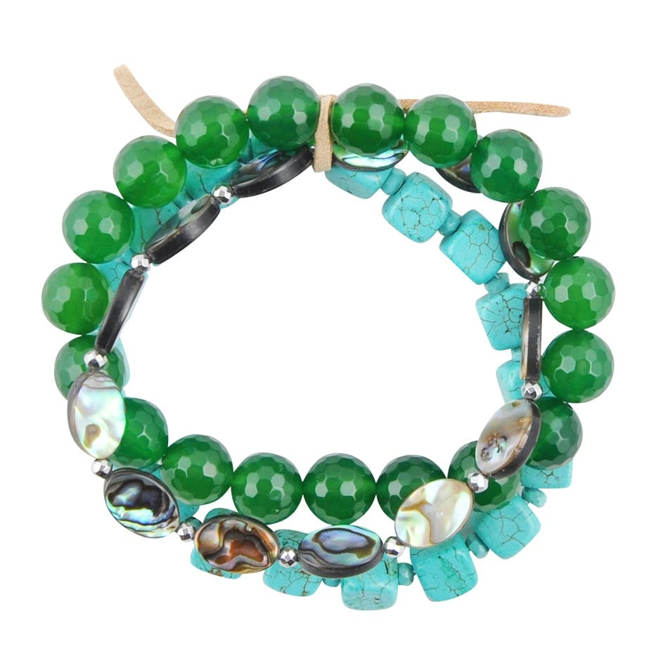 Ocean Bright Stretch Bracelet
