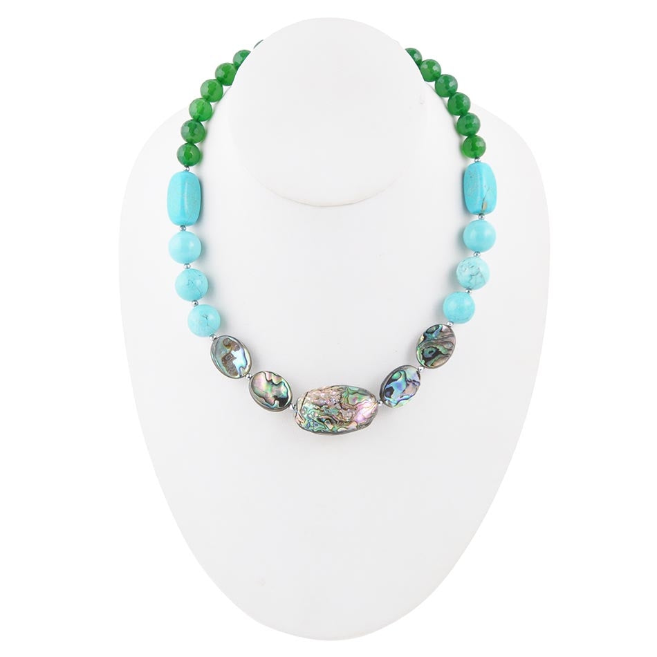 Ocean Bright Abalone Necklace