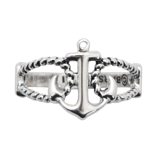 Anchors Away Sterling Silver Ring