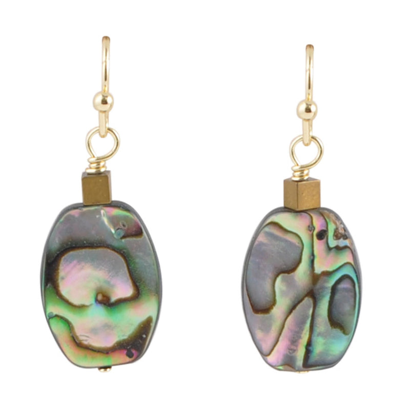 To The Sea Abalone Earring
