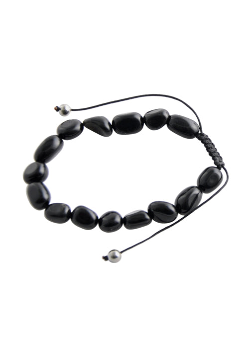 Cinch Bracelet-Black Onyx