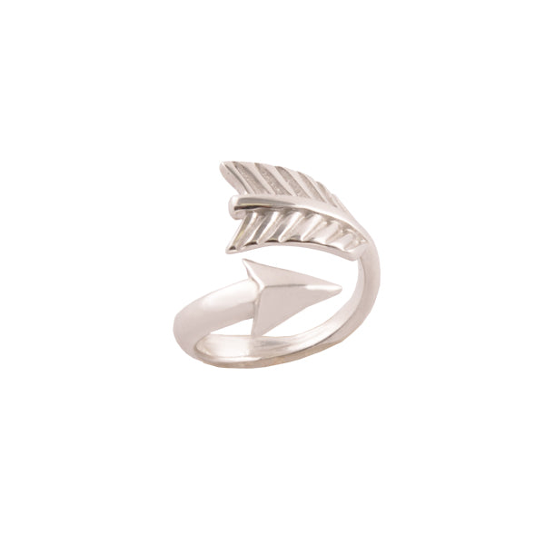 Follow Your Arrow Sterling Silver Ring
