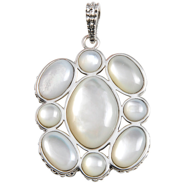 Mod Pearl Sterling Pendant