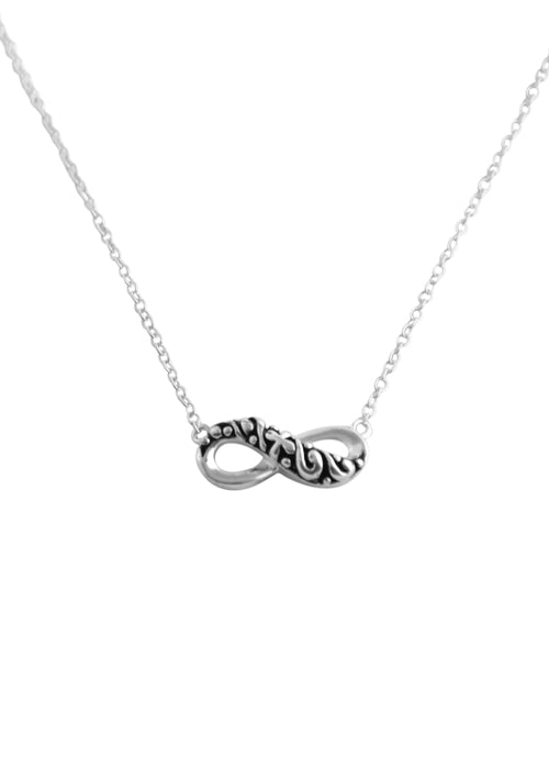 Infinity Necklace-Sterling Silver