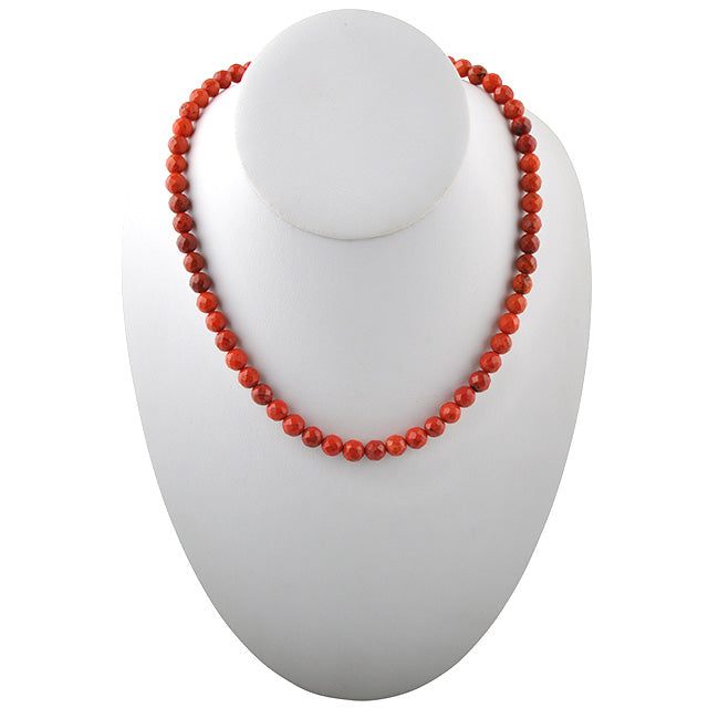 Bright Things Orange Magnesite Necklace