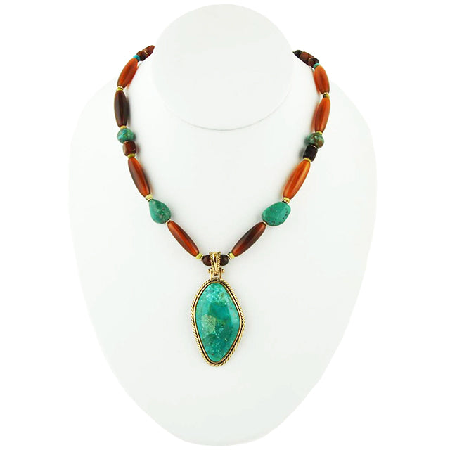 Turquoise Trek Necklace