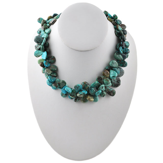 Tears of Joy Turquoise Necklace