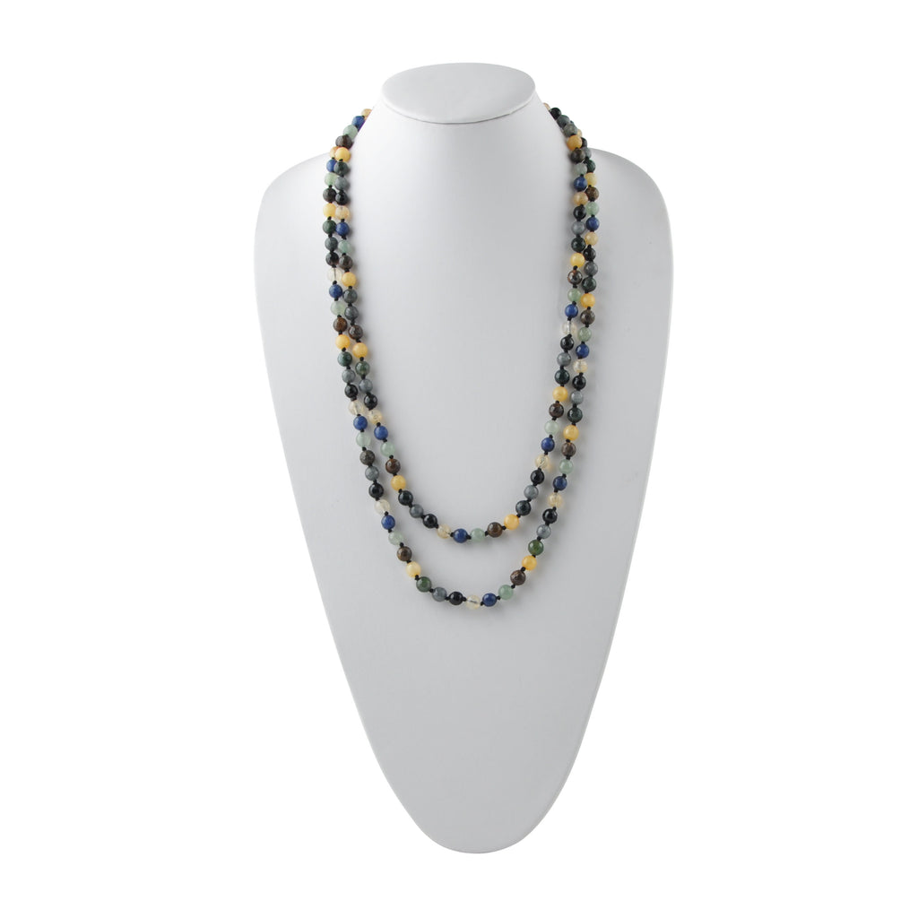 "Amazing Lengths 60"" Agate Necklace"