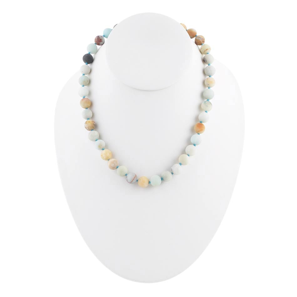 Simply Stones Necklace - Amazonite