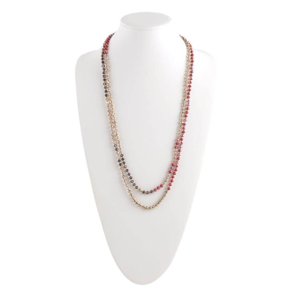 Scarlet Cafe Endless Necklace