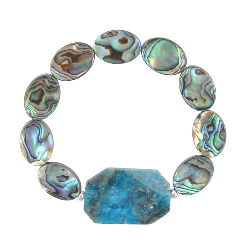 Blue Lagoon Stretch Bracelet