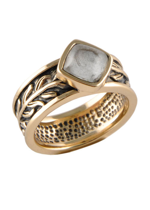 Crystal Single Stack Ring