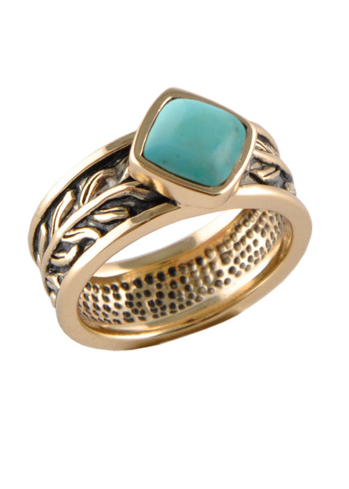 Turquoise Single Stack Ring
