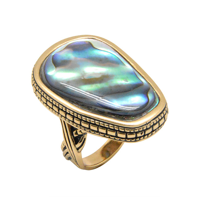 Asymmetry Ring-Abalone