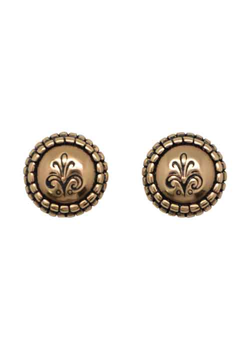 Perfect Post Earring- Bronze