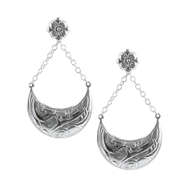 Moonlight Sonata Silver Earring