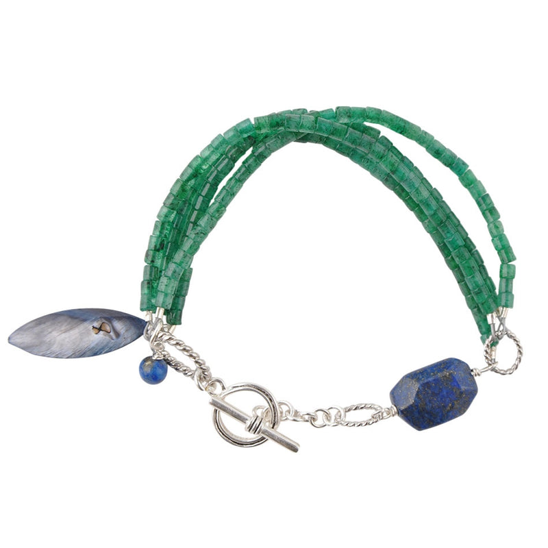 Beach Walk Toggle Bracelet