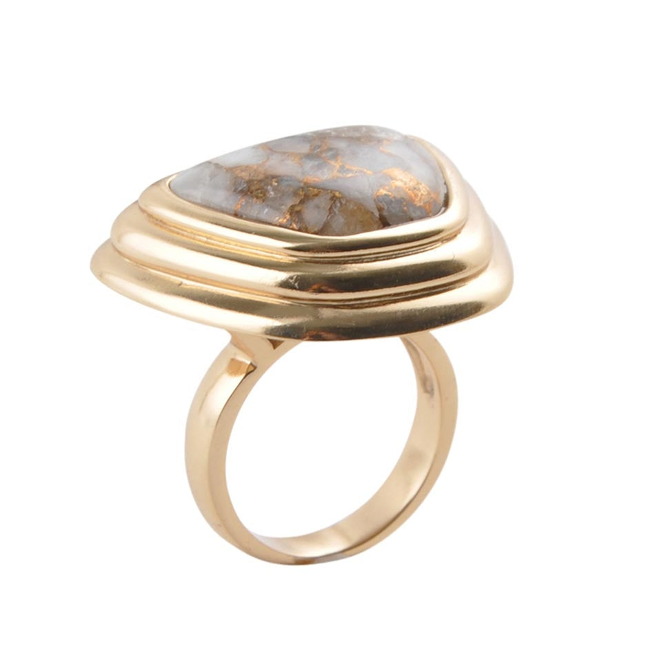 Oh So Delightful Bronze Ring