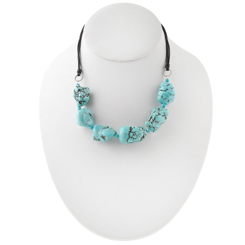 Azure Road Turquoise Necklace