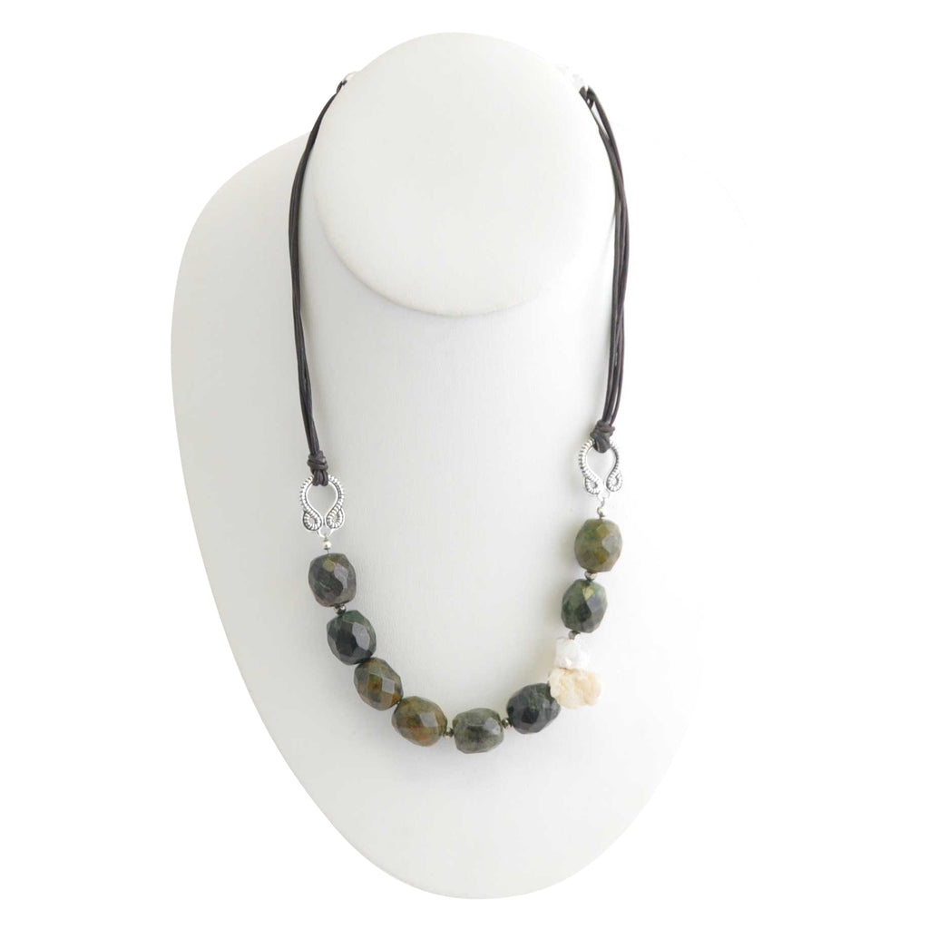 Agate & Quartz Melange Necklace