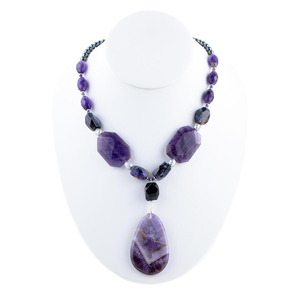 Amethyst Seeing is Believing Necklace