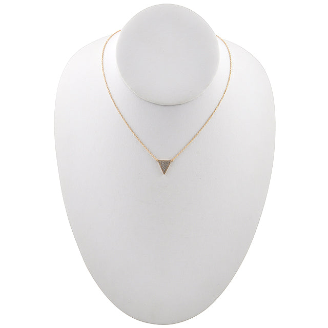 Brilliant Trident Necklace-Gold Vermeil