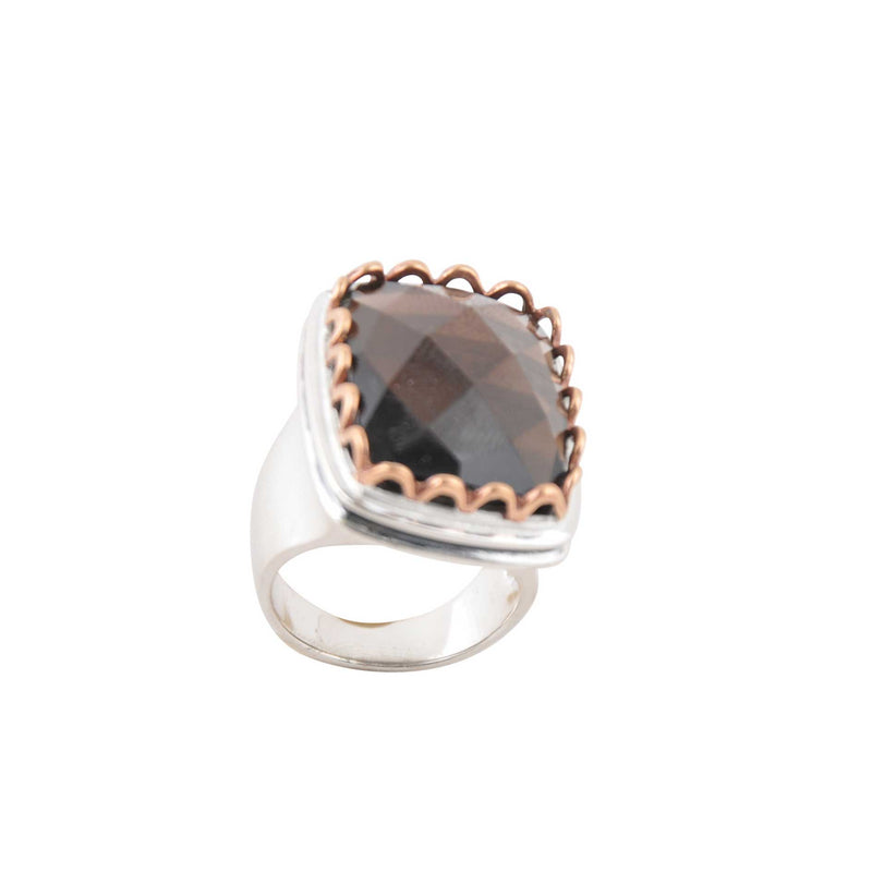 Opulent Smoky Quartz Ring
