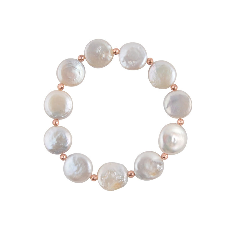 Sweet Mother of Pearl Stretch Bracelet