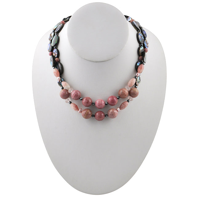 Abalone Blush Necklace