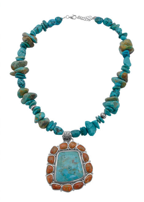 Painted Desert Statement Necklace