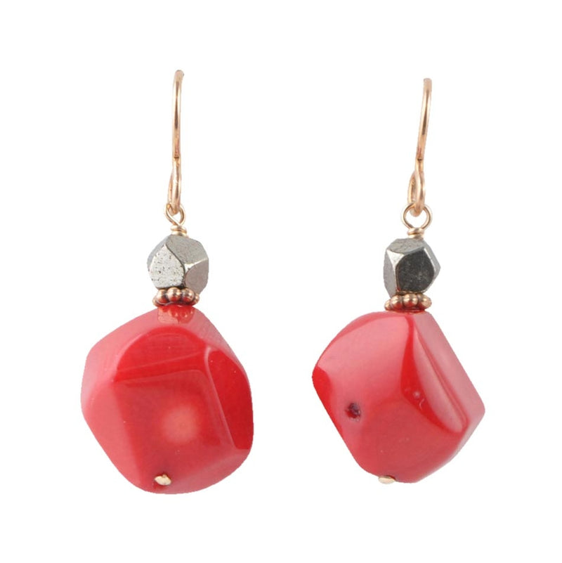 Big Apple Red Earring