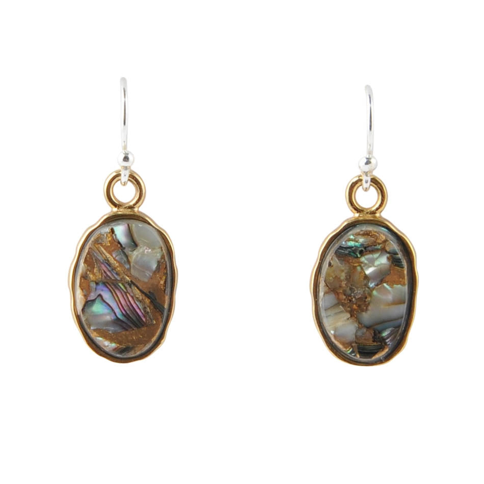 Abalone Drop Earring