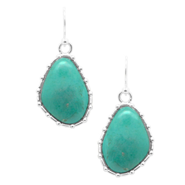 Edgy Turquoise Earring