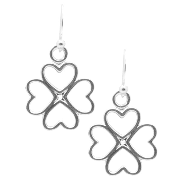 Lucky in Love Clover Earring