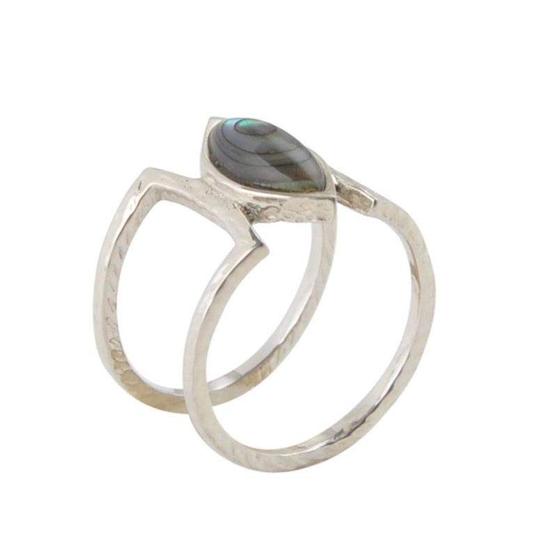 Effortless Abalone Ring